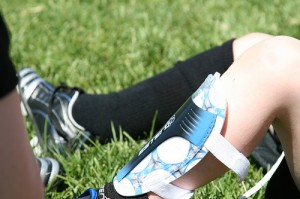 Plastic Youth Soccer Shin Guards